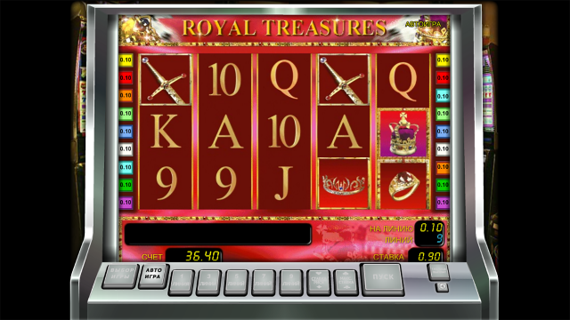Характеристики слота Royal Treasures 5