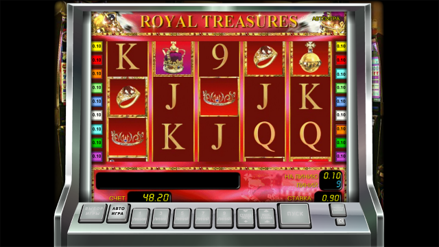 Характеристики слота Royal Treasures 4